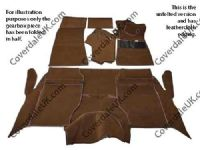 Rover P5b Saloon 1967 to 1973 Carpet Set  - Wessex Wool Range